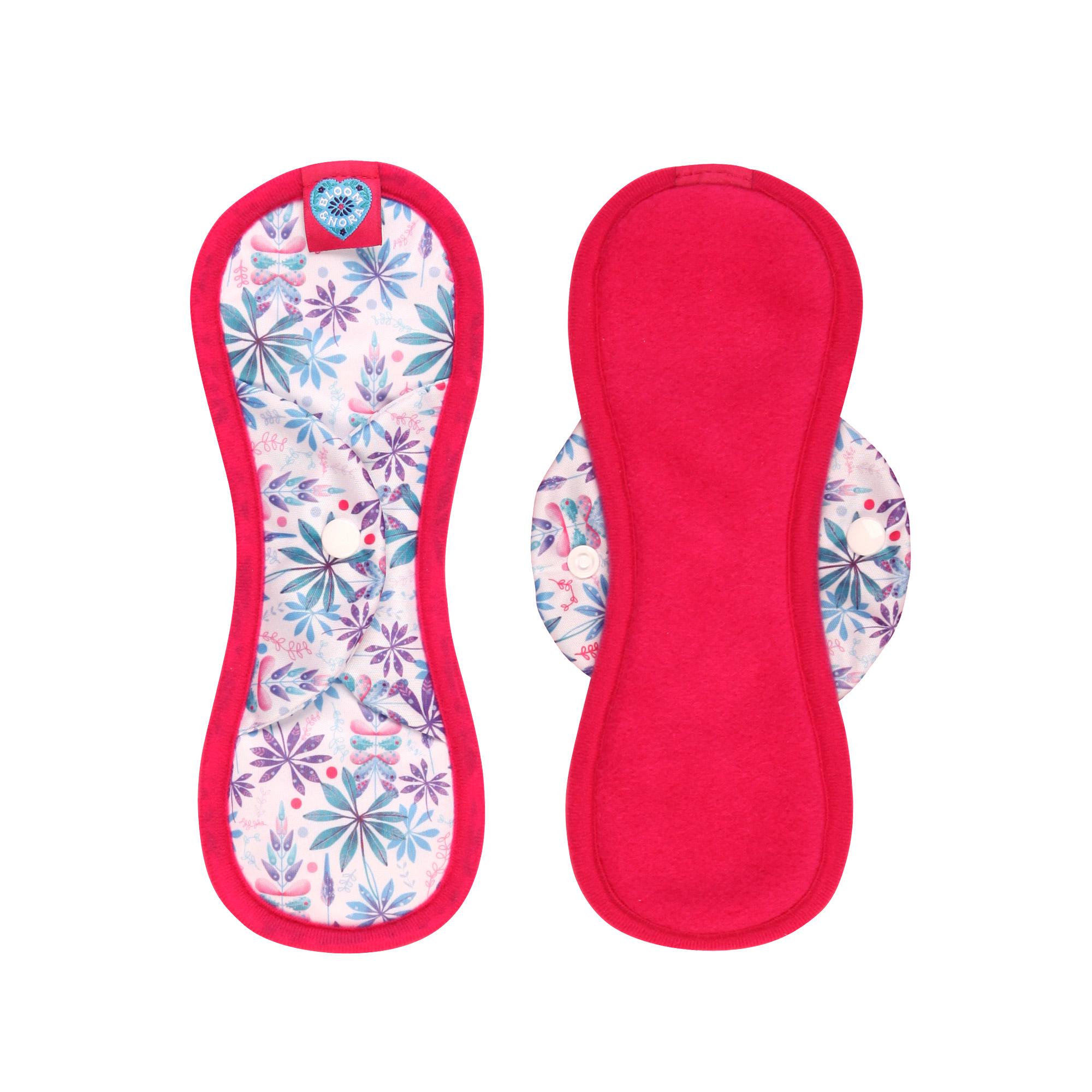 Midi Sanitary Towel - Bloom and Nora
