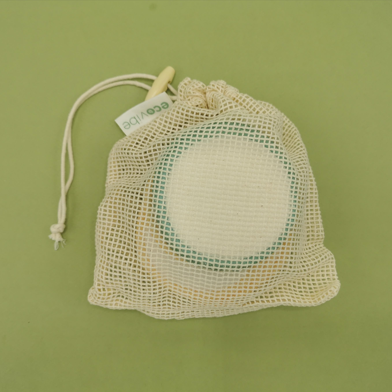 Reusable Make up Wipes + Cotton Wash Bag