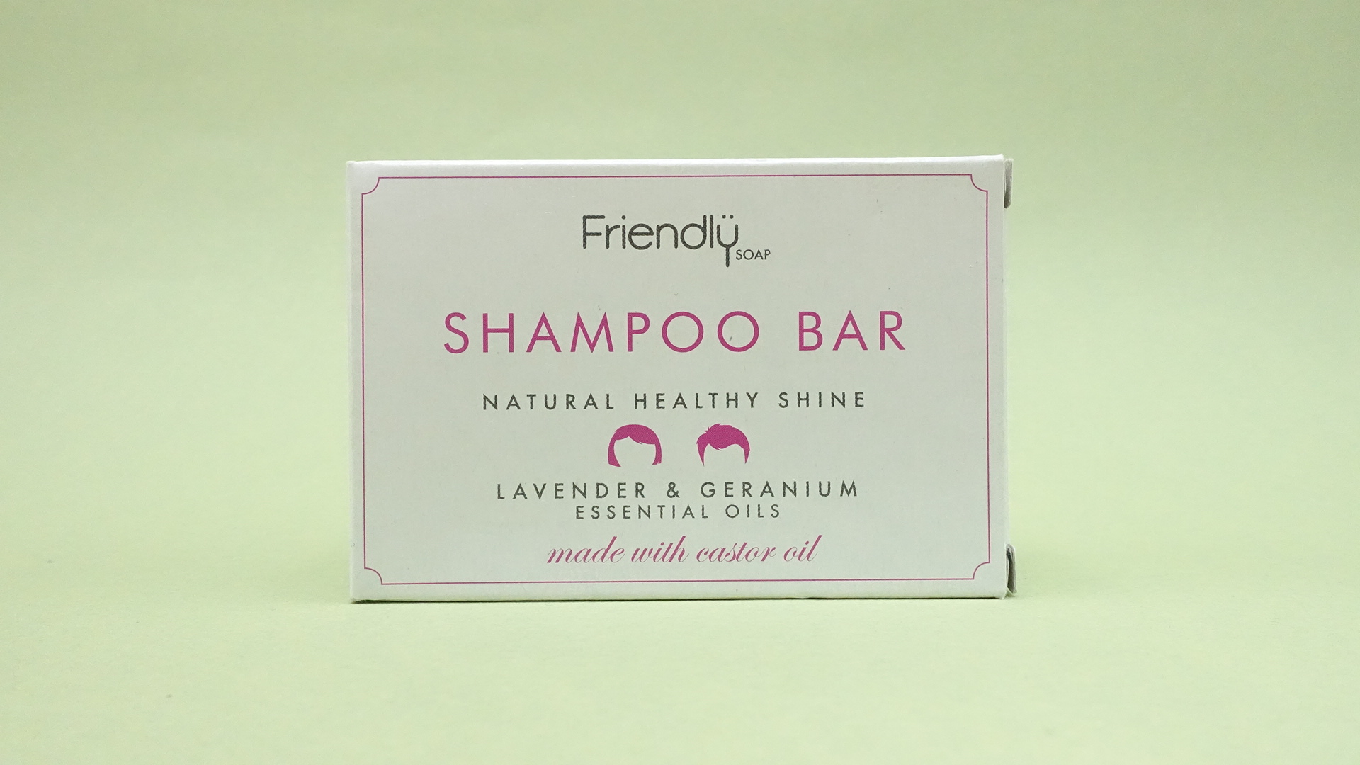 Friendly Soap Shampoo Bar (Lavender and Gyranium)