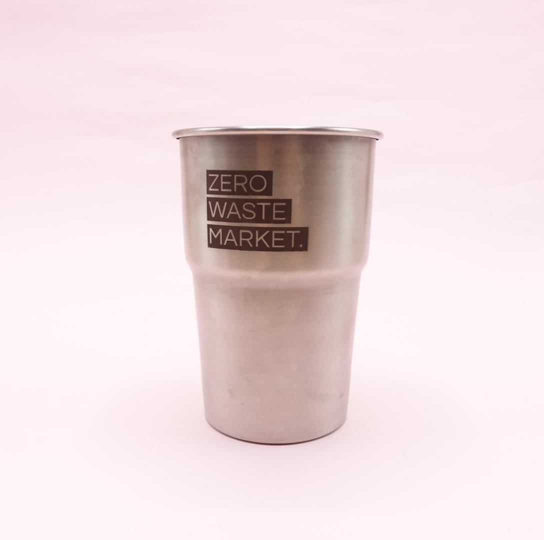Zero Waste Market Steel Cup