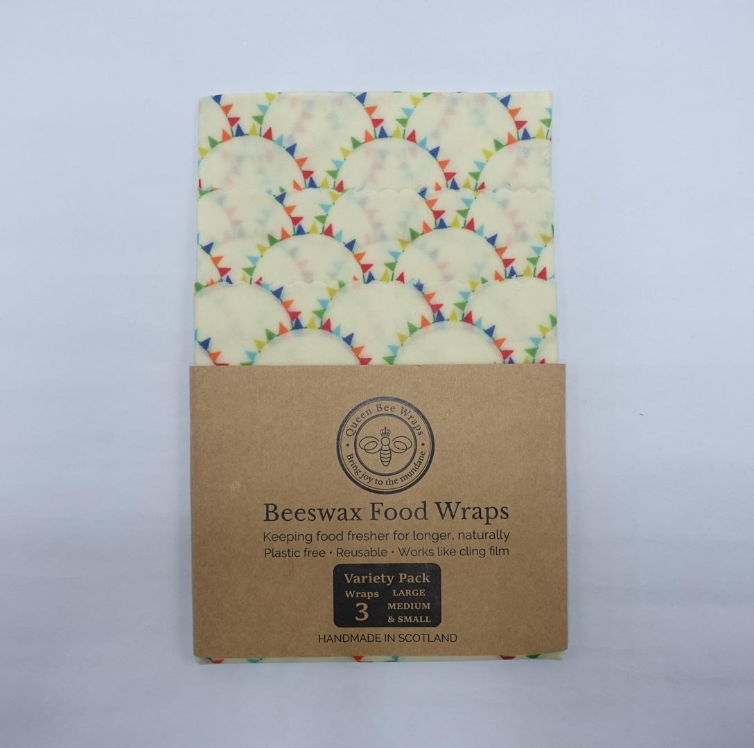 Queen Bee Beeswax Wrap - Bunting