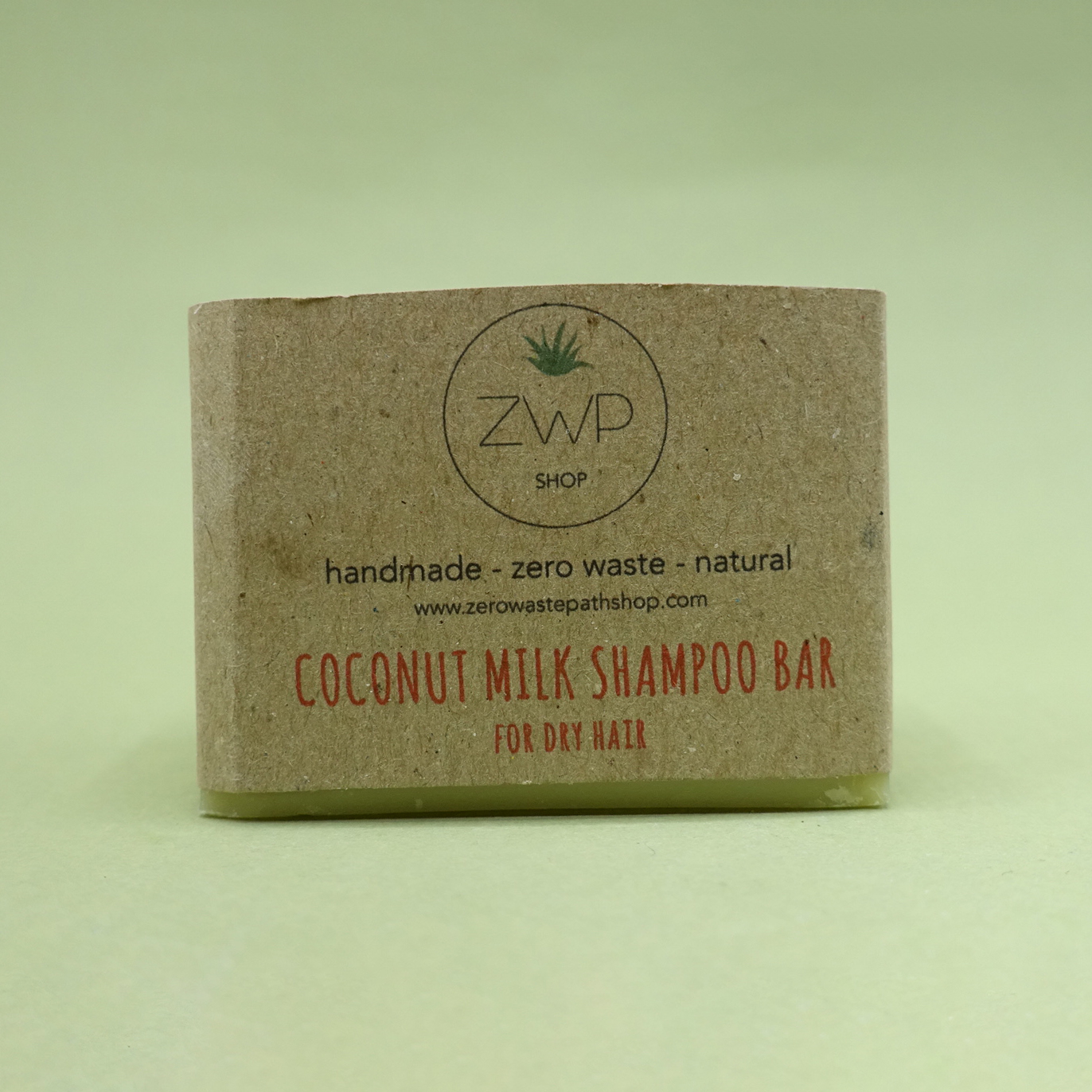 Coconut Milk Shampoo Bar