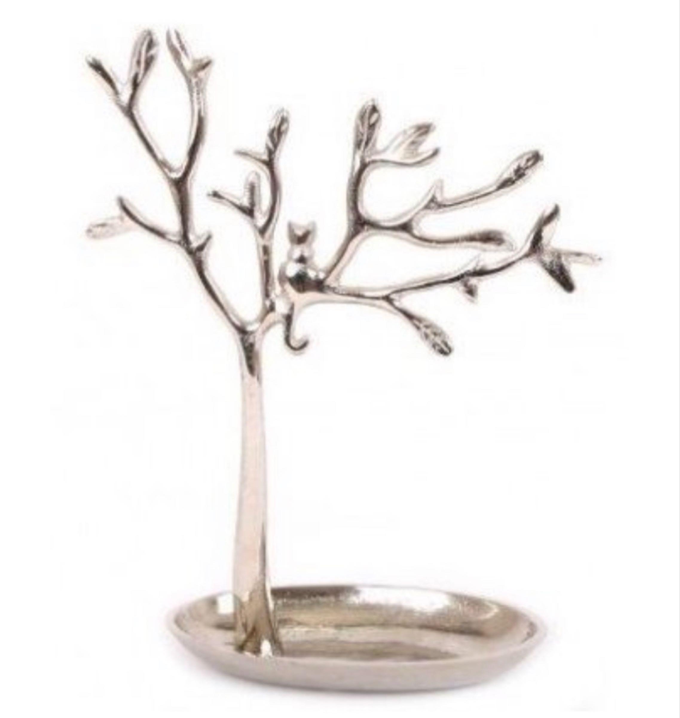 Cat in Tree Jewellery Holder 30cm