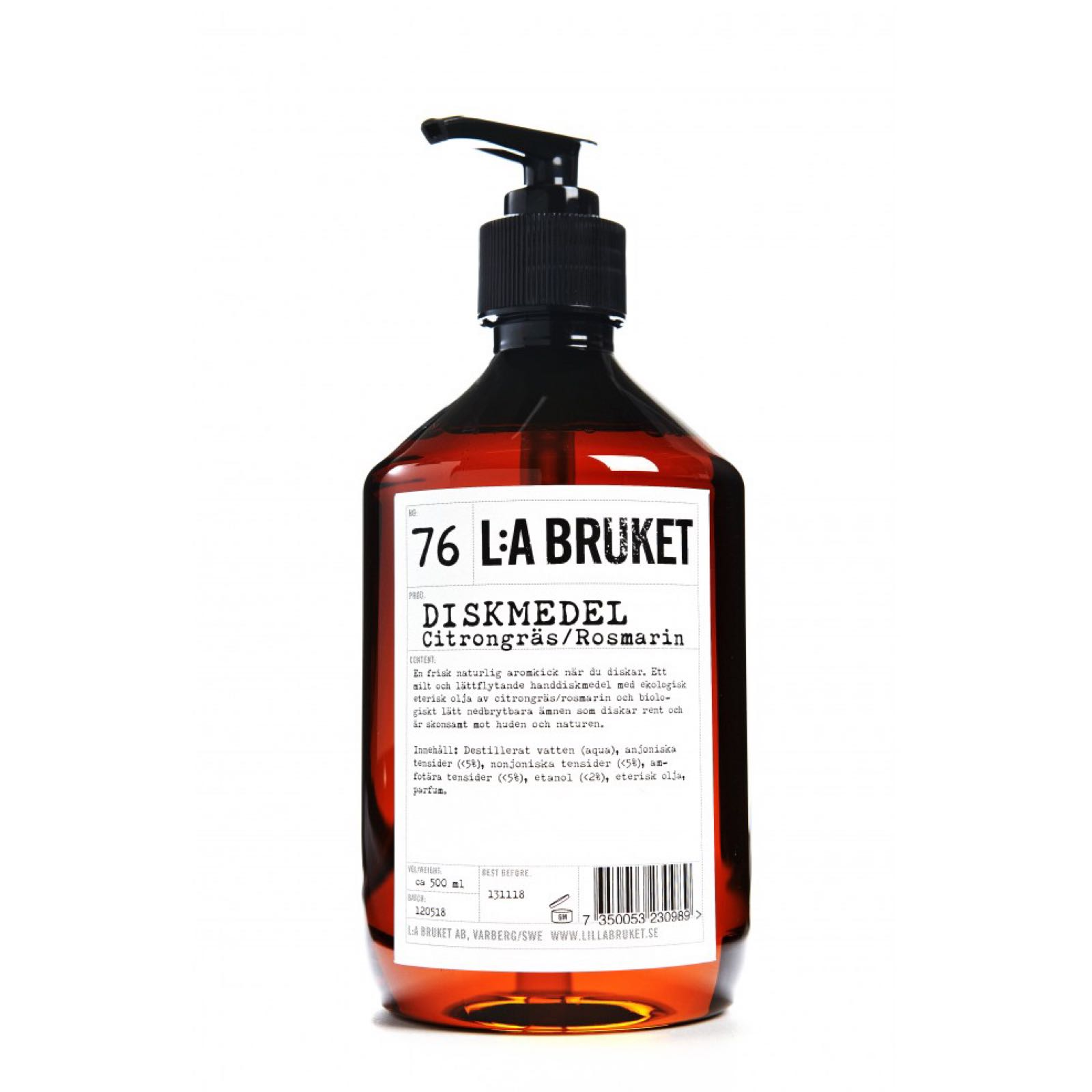 L:a bruket, diskmedel, dishwashing liquid, 500ml