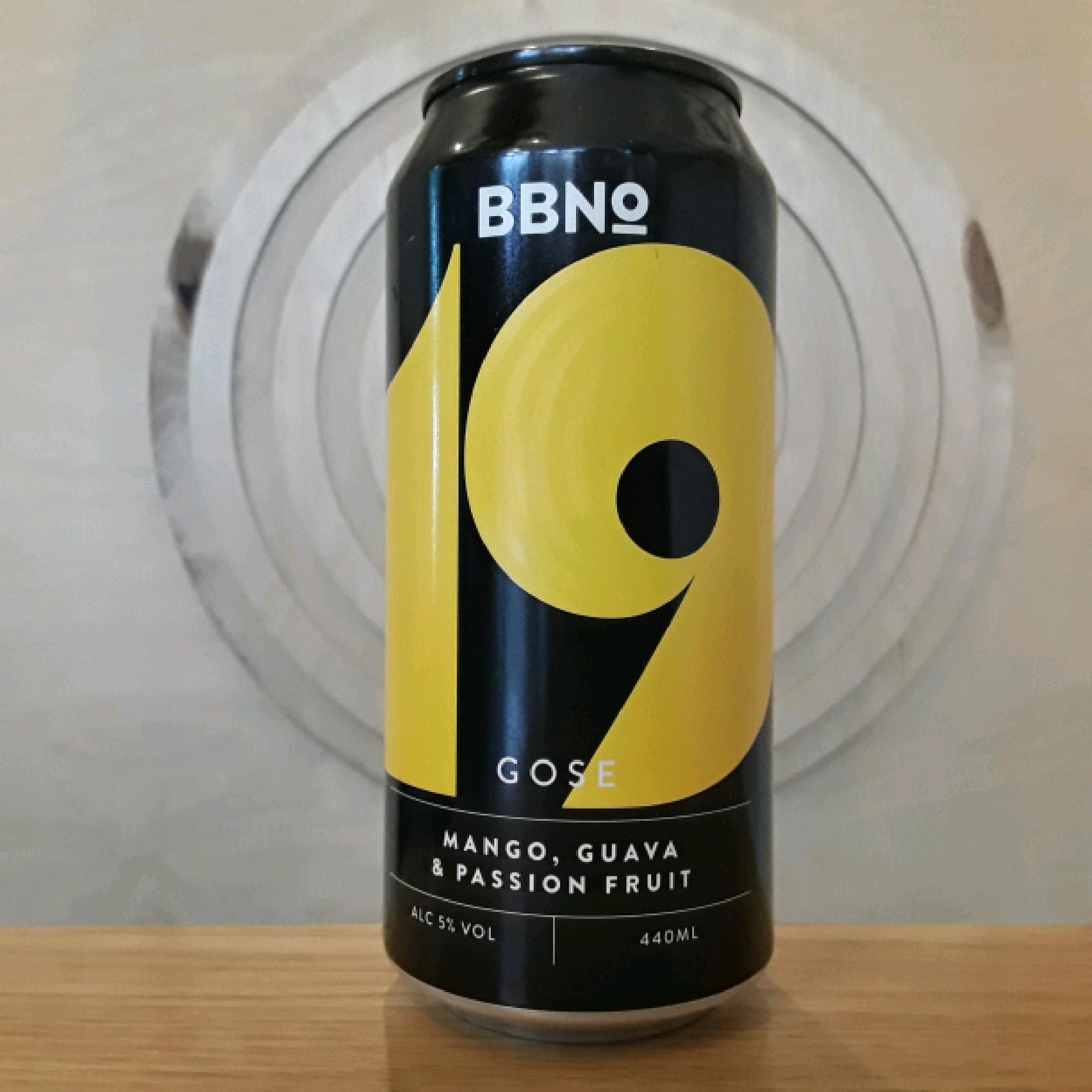 BBNO | 19 Mango, Guva & Passion Fruit | Gose