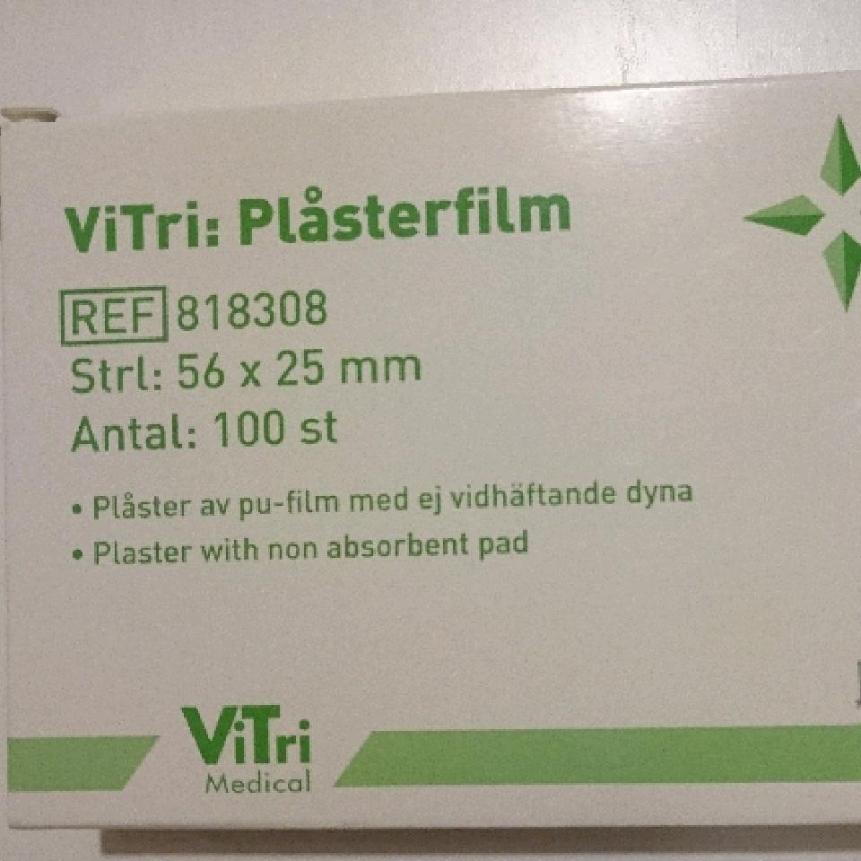 ViTri Plåsterfilm 56x25mm 100st 818308