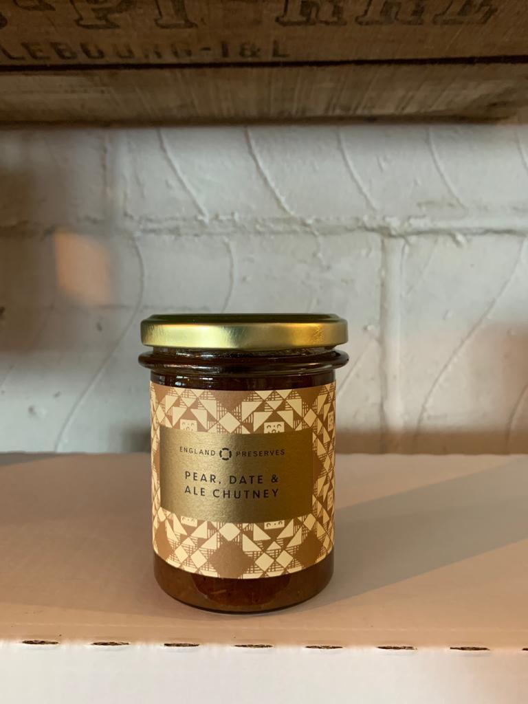 Pear, Date & Ale Chutney - England Preserve