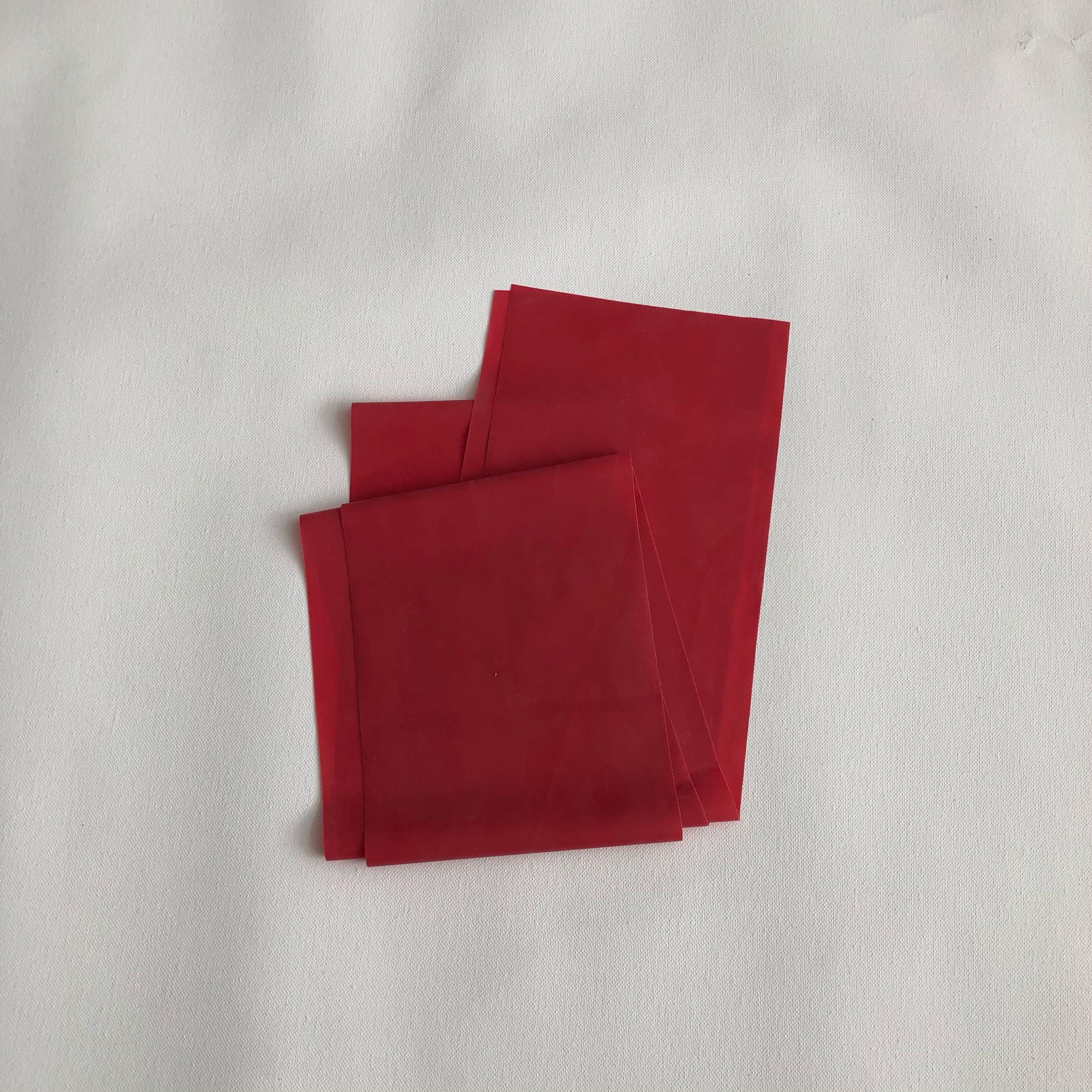 Punainen jumppakuminauha