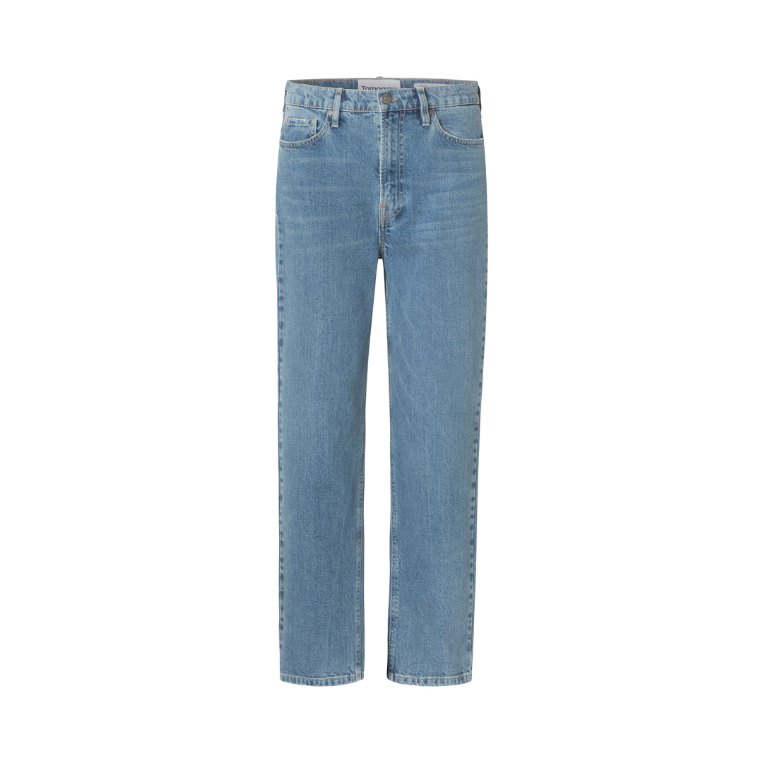 Brown Straight Jeans