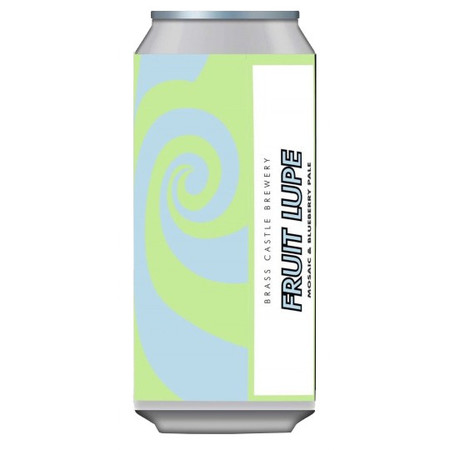 Brass Castle Fruit Lupe Mosaic Pale