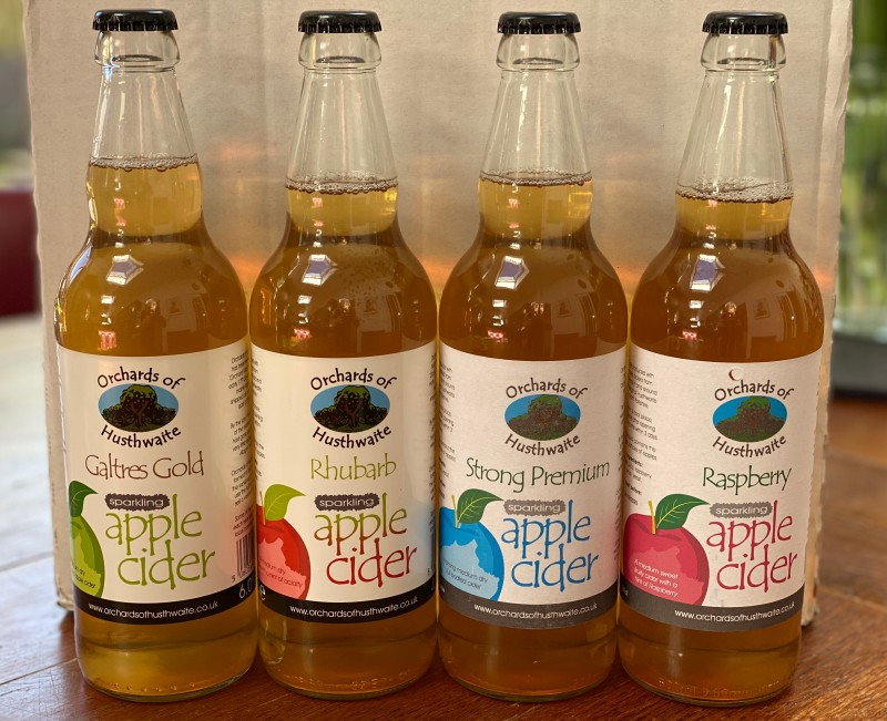 Galtres Apple and Elderflower cider (case of 12x500ml)