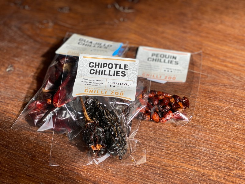 Chilli Zoo - Dried Chillies