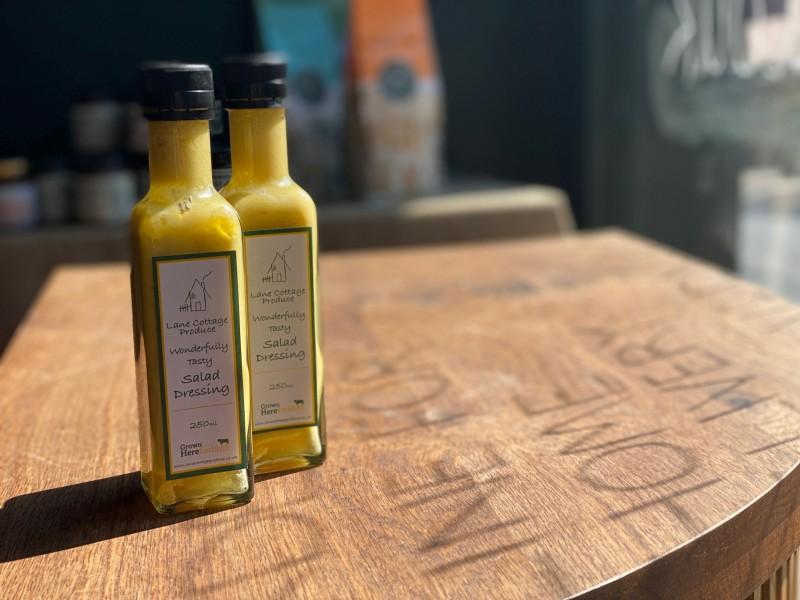 Lane Cottage Produce - Honey & Mustard Salad Dressing (250ml)