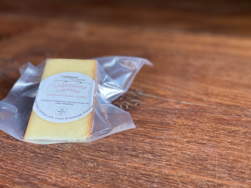 Lightwood Cheese - Smoked Cheddar