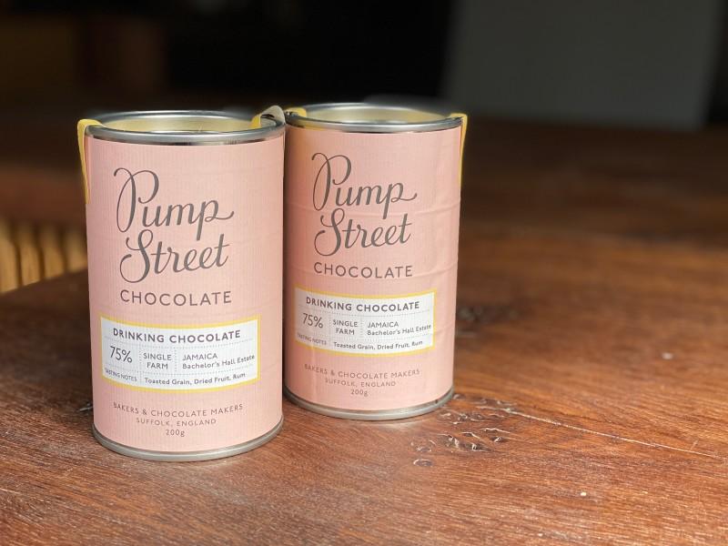 Takeaway Hot Chocolate - Pump Street Chocolate