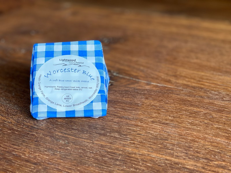 Lightwood Cheese - Worcester Blue