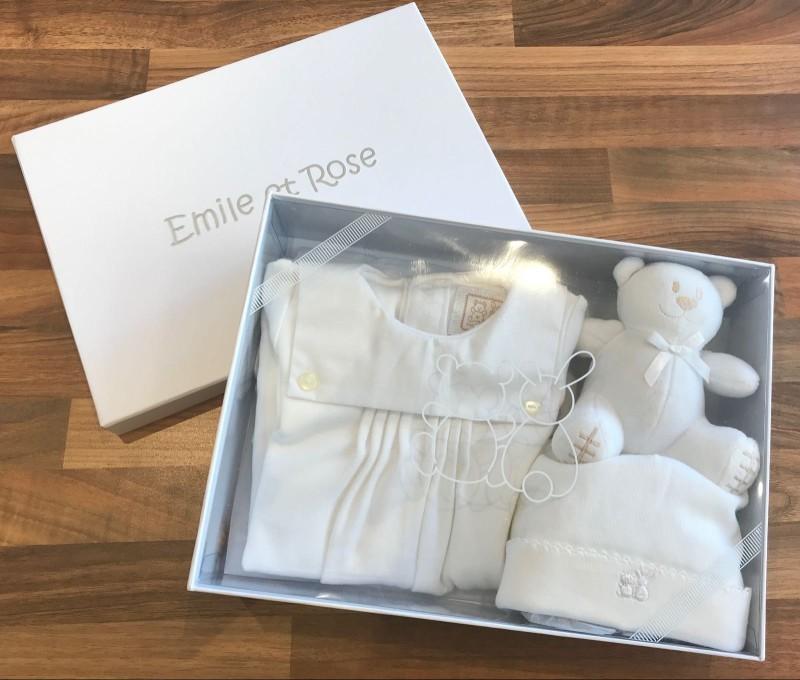 Emile et Rose Gift Set, Graz, White