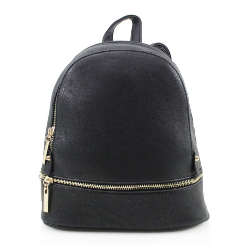 Multi Section Backpack - Black