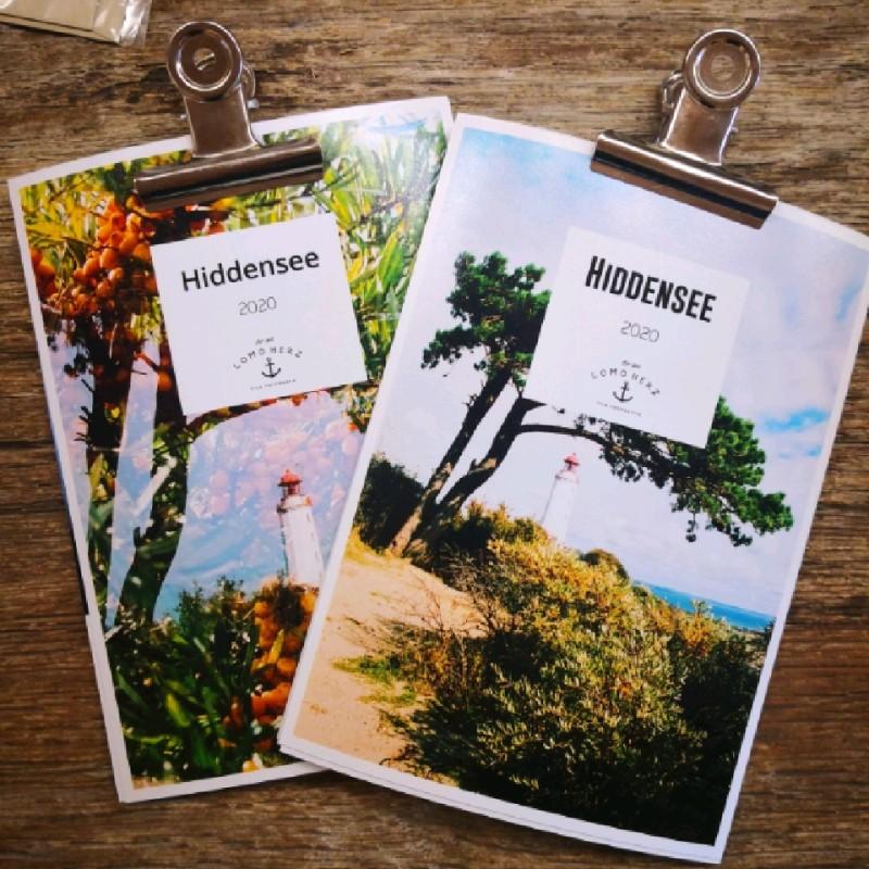Lomoherz - Kalender Hiddensee 2020