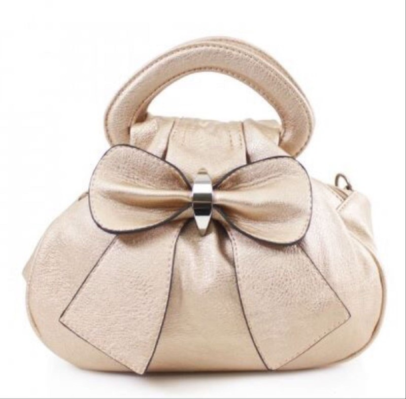 Bow Bag - Gold