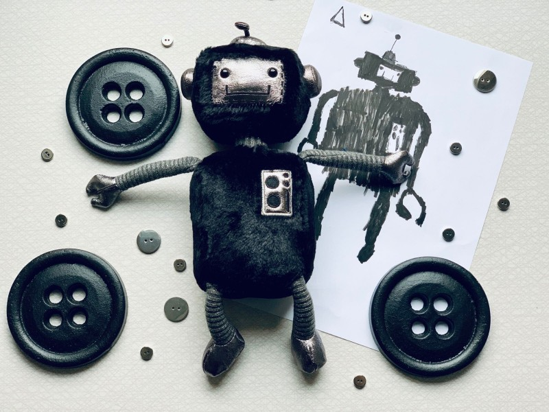 Mjukisdjur Jellycat - Robot