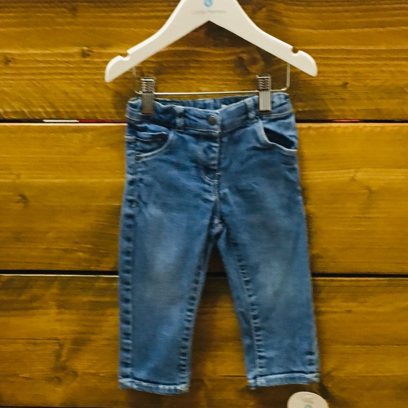 VERTBAUDET BLUE DENIM JEANS 18M