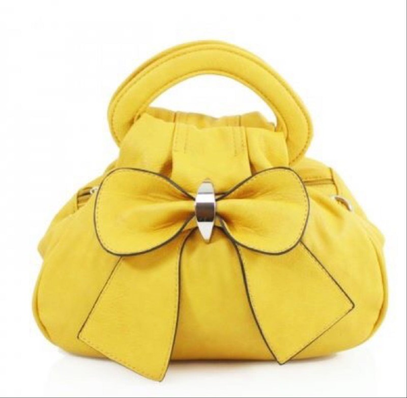 Bow Bag - Yellow
