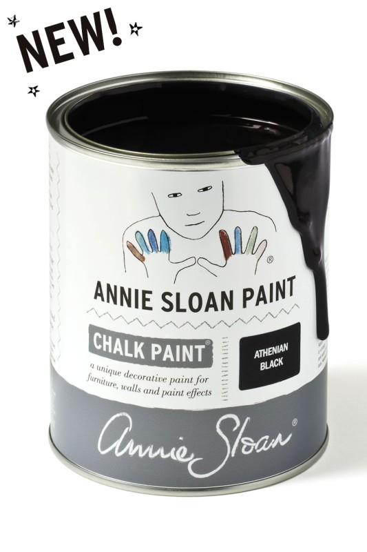 Chalk Paint Athenian Black 1L