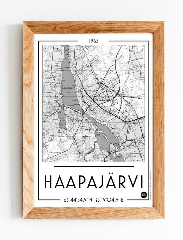Haapajärvi, A3 karttajuliste