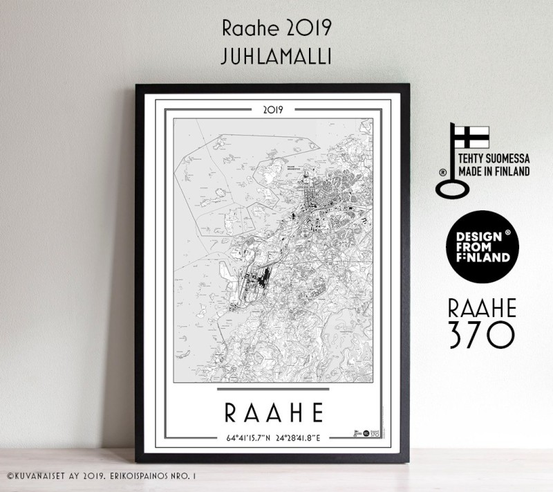 70x100cm Raahe 2019, 370v