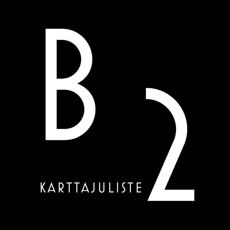 B2 karttajuliste