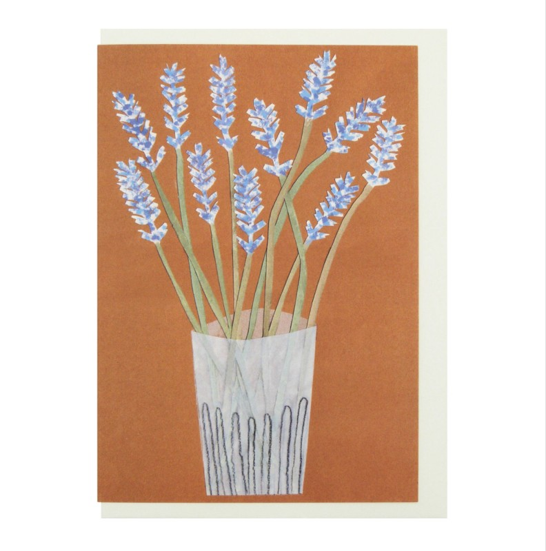 Lavender card by Hadley Paper Goods