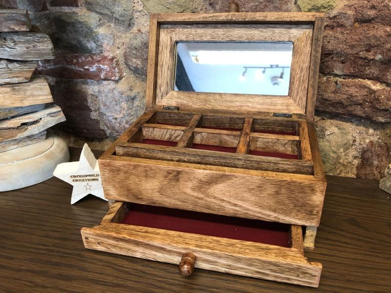 Maple Jewellery Box