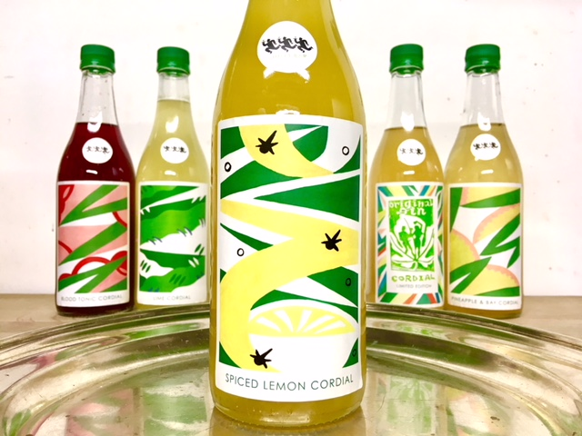 Spiced Lemon Cordial