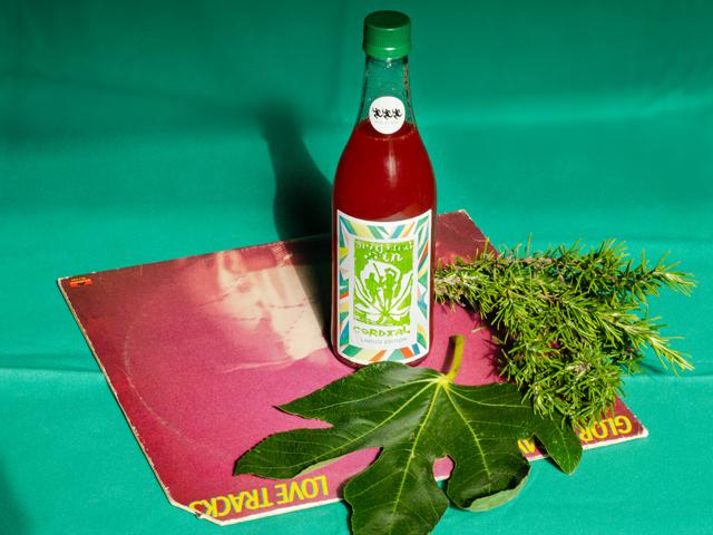 Strawberry & Fig Leaf Cordial