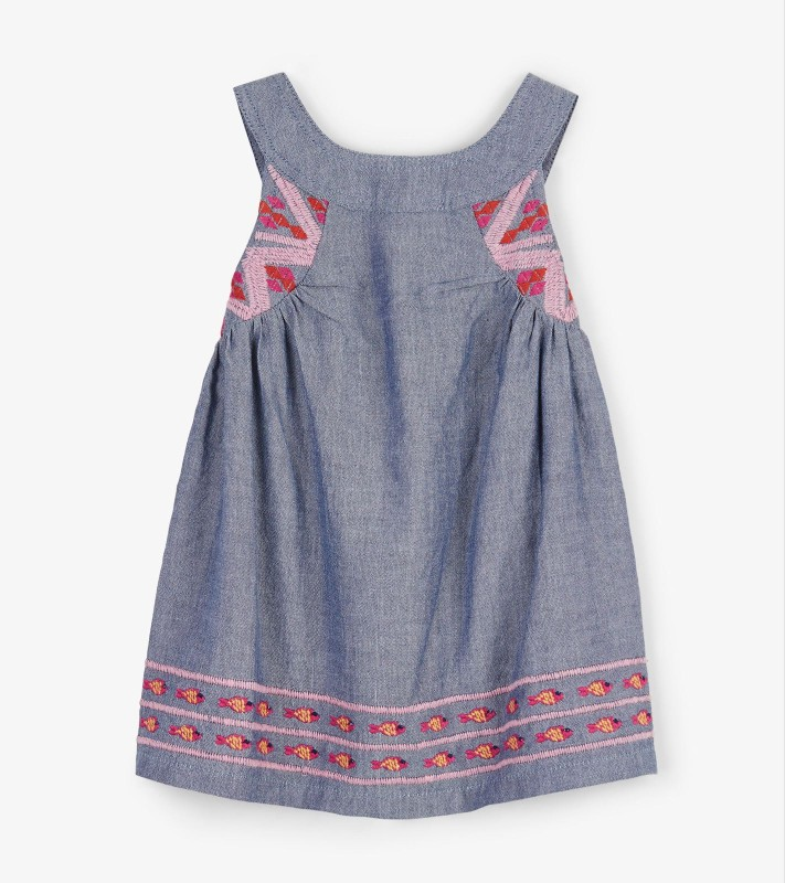 Hatley Chambray Baby Dress