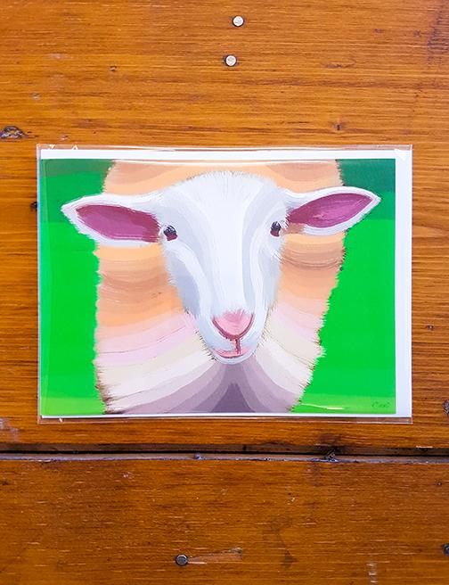 Sheep Artwork Card