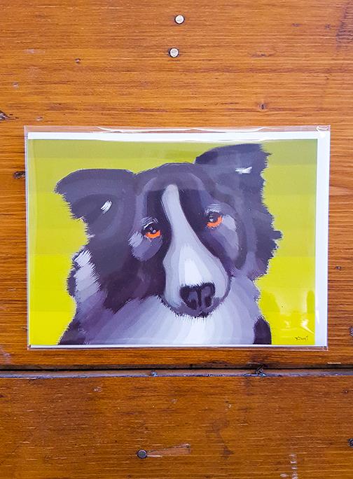 Dog Artwork Card