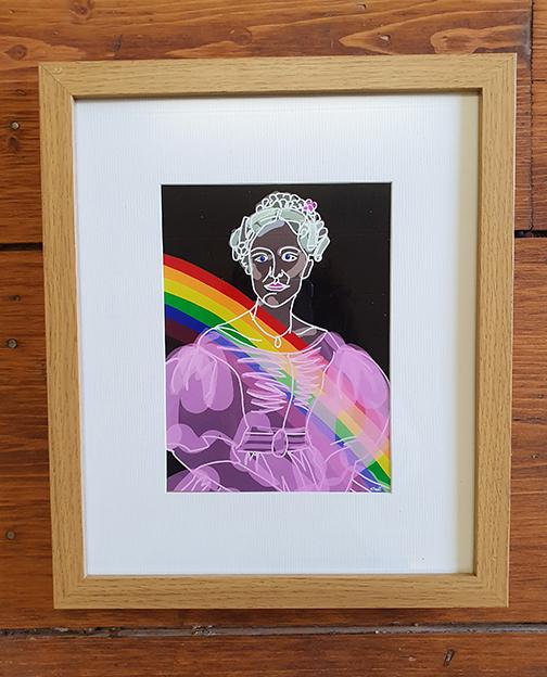 Gentleman Jack - Ann Walker 20 x 16 Framed Artwork