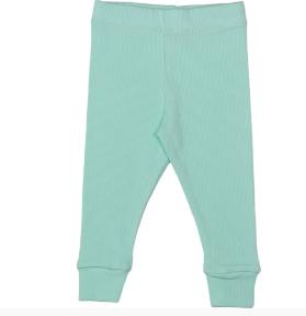 Cribstar Ribbed Lounge Pant - Mint Green