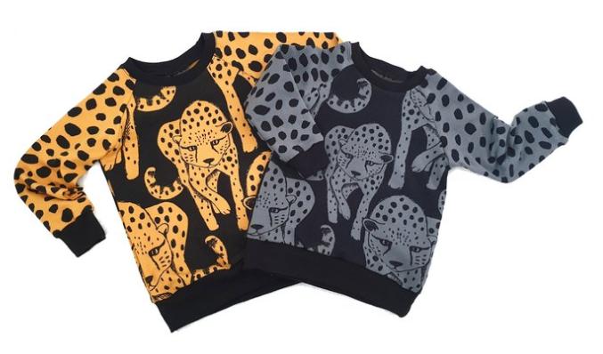 Lalaloop Cheetah Jumper - Mustard