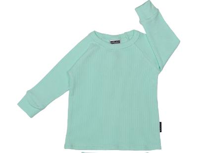 Cribstar Ribbed Lounge Top - Mint Green