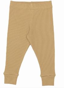 Cribstar Ribbed Lounge Pant - Mustard