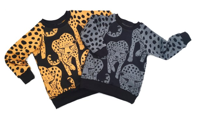 Lalaloop - Cheetah Jumper - Grey