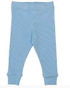 Cribstar Ribbed Lounge Pant - Baby Blue