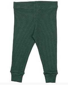 Cribstar Ribbed Lounge Pant - Bottle Green