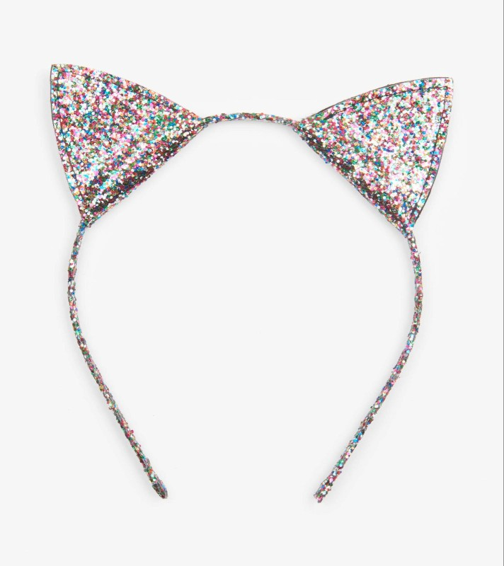 Hatley Glitter Kitty Ears Headband