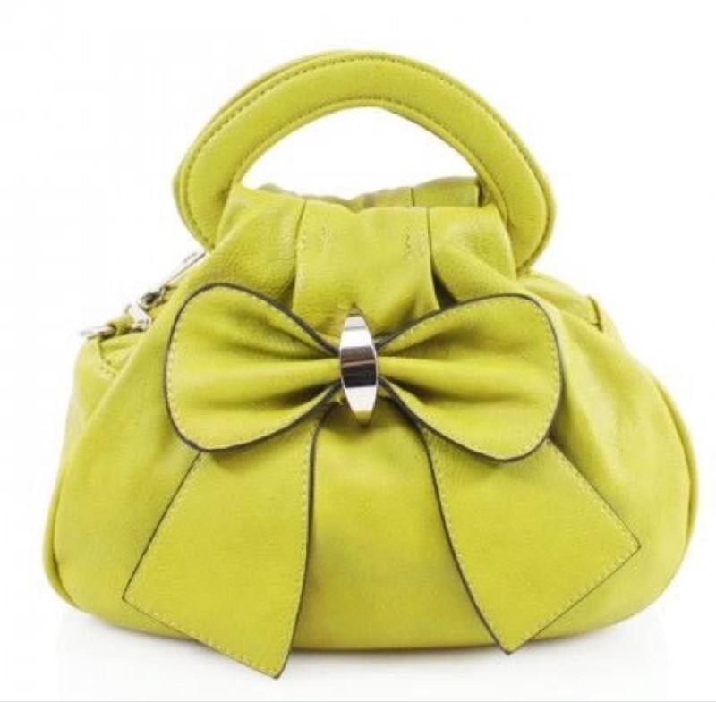 Bow Bag - Lime