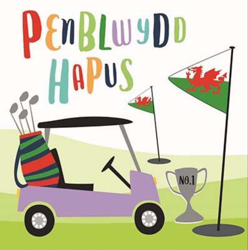 Penblwydd Hapus Golf (CAR078)