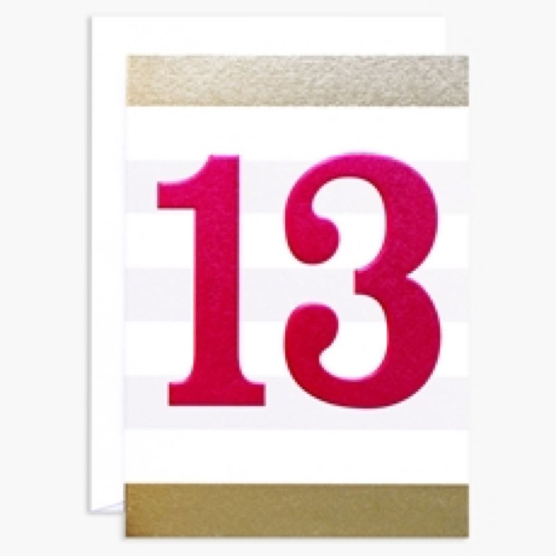 13th Birthday (INK100)